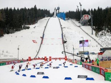 Das Weltcup-Finale der Nordischen Kombinierer wird in Klingenthal ausgetragen.