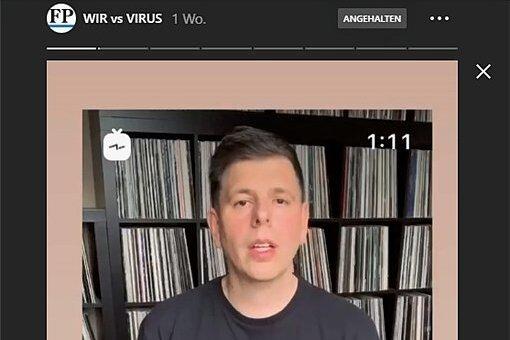 DJ Ron per Videobotschaft: Bitte bleibt zu Hause.