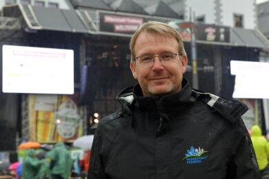 """""""Wir sind zufrieden"""" - so lautet das Fazit von Oberbürgermeister Sven Krüger am Ende der vierwöchigen Veranstaltungsreihe."""