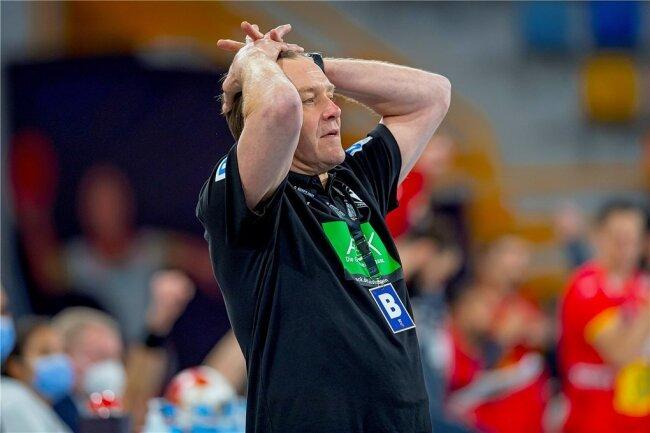Auf Cheftrainer Alfred Gislason wartet viel Arbeit.