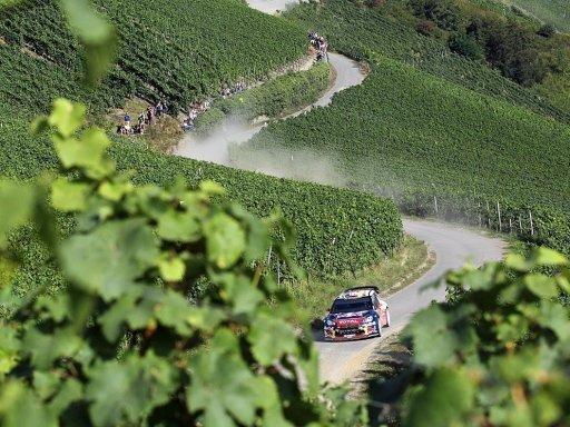 Zwischenfall überschattet Deutschland-Rallye