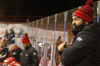 Trainer Mario Richer ist verärgert