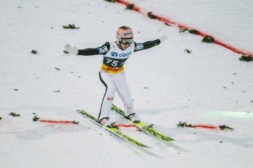 Stefan Kraft fliegt mit 253,5 Metern zum Weltrekord