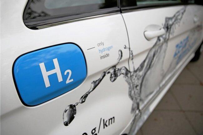 Ein B-Klasse-Mercedes mit Brennstoffzelle. Hersteller wie Toyota und Hyundai sind längst weiter.
