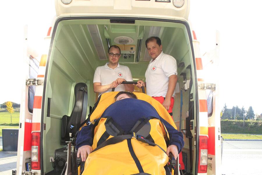 Wenn Patienten zu schwer sind: Feuerwehren gefragt