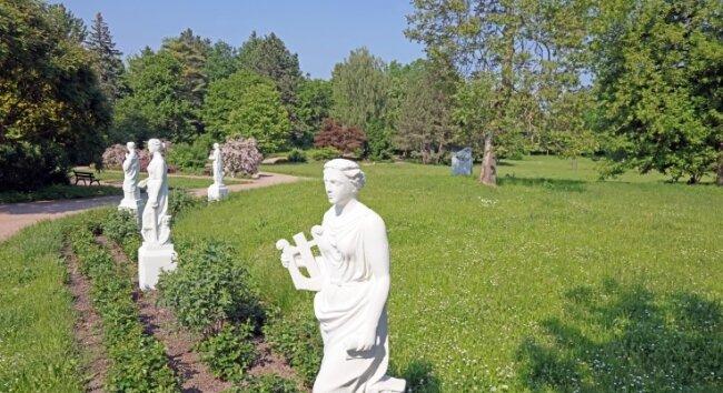 """Der Park """"Neue Welt"""" in Zwickau soll nach historischem Vorbild neu gestaltet werden."""