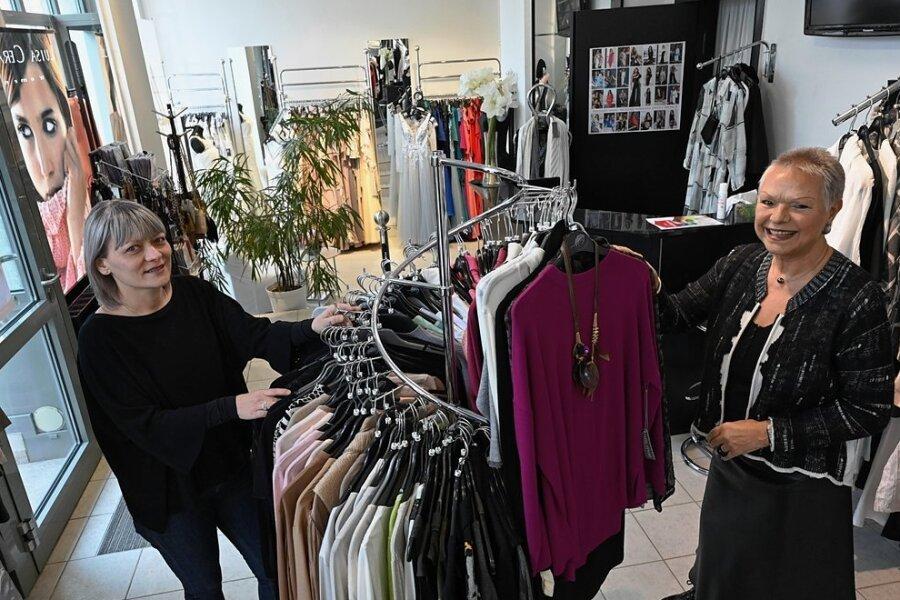 Gritt Rudolph (links) hat die Boutique von Hella Erler (rechts) übernommen.