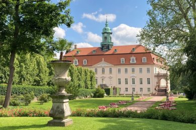 Aristokratische Pracht: Der Besuch des Schlossparks in Lichtenwalde lohnt.