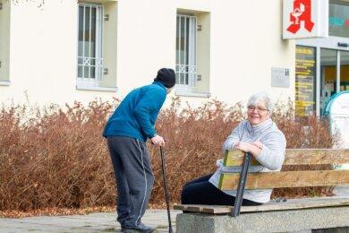 Iris Enk ist Alltagshelferin - ein Angebot, das es in Plauen so noch nicht geben soll. Sie will quasi 24 Stunden und sieben Tage pro Woche vor allem älteren Menschen zur Seite stehen.