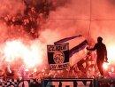 Die HSV-Anhänger zündeten im Stadtderby Pyrotechnik