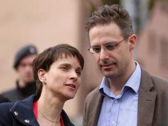 Frauke Petry und ihr Ehemann Marcus Pretzell.