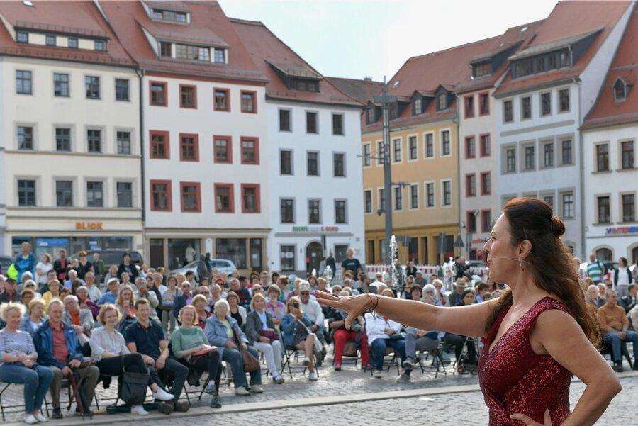 Ungefähr 400 Zuschauer erleben Showtime in Freiberg