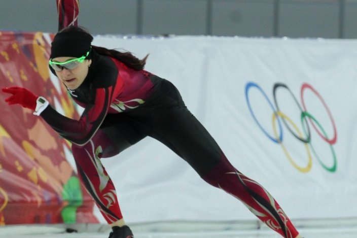 2014 erfüllte sich für Denise Roth ein Traum: Bei den Olympischen Winterspielen in Sotschi gehörte die Mylauerin zum deutschen Team.