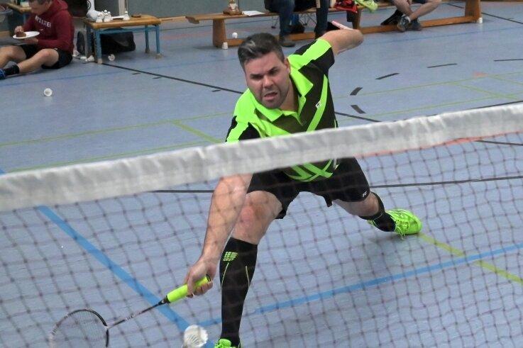 Christian Kupfer und seine Stollberger Badminton-Kollegen sammelten gegen Marienberg die ersten Saisonpunkte ein.