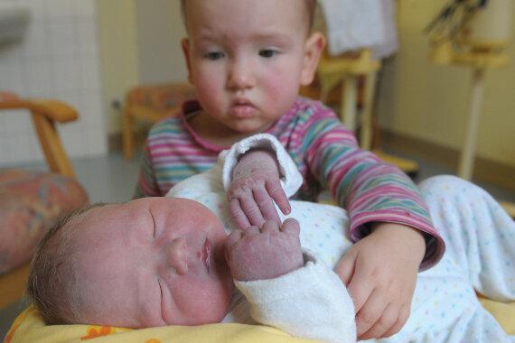 Leopold Hänsch erblickte am Neujahrstag als erstes Baby in der Chemnitzer Frauenklinik das Licht der Welt.
