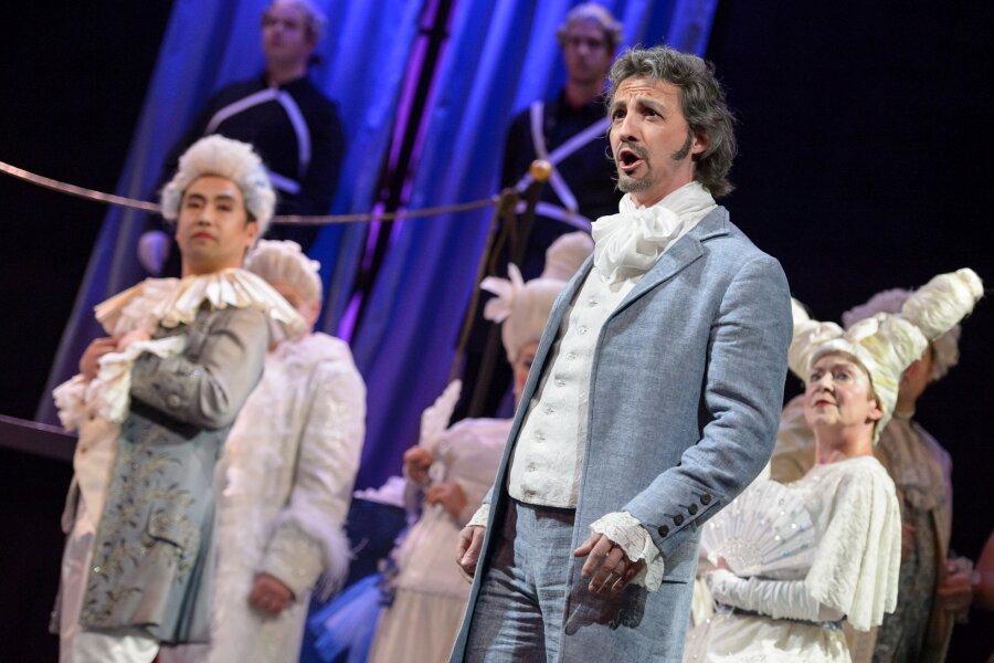 """Theater: Premiere von """"Andrea Chénier"""" gut angenommen"""