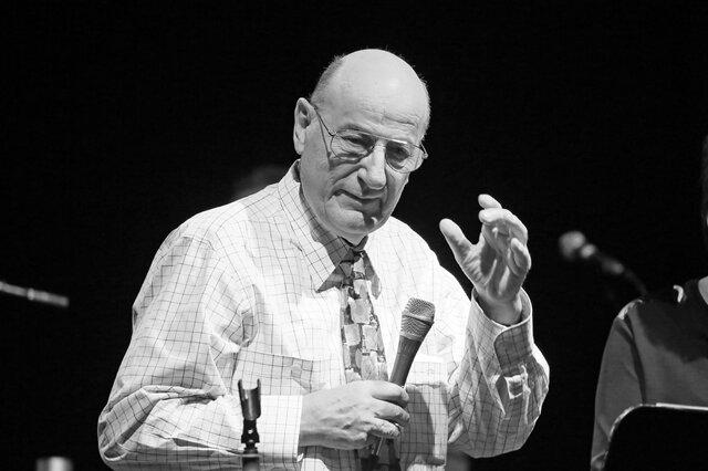 Manfred Krug im Februar 2016 in Zwickau.