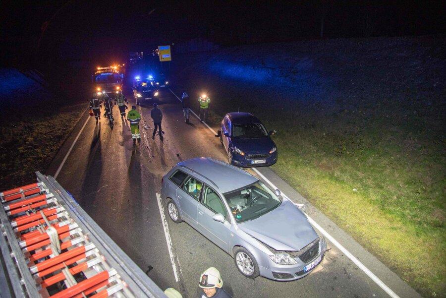 Bundesstraße 101 nach Unfall gesperrt