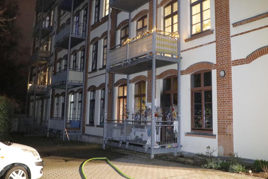 Brand in Einrichtung für Betreutes Wohnen