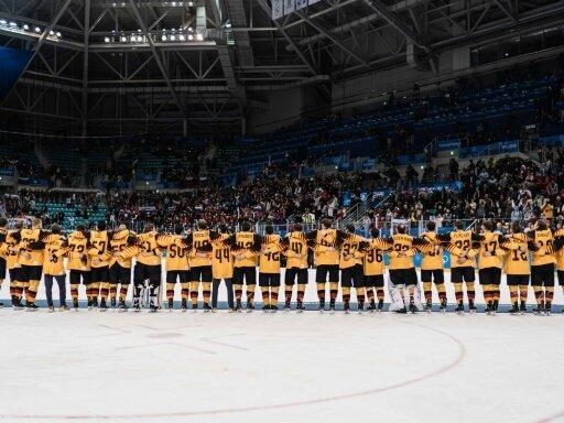 Das deutsche Eishockey-Team gewann bei Olympia Silber