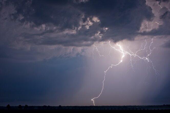 Unwetterwarnung für weite Teile Sachsens