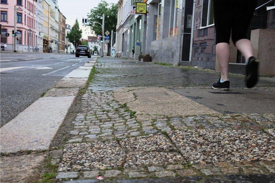 In diesem Zustand wollen die Hausbesitzer ihren Anteil an der Leipziger Straße nicht sehen.