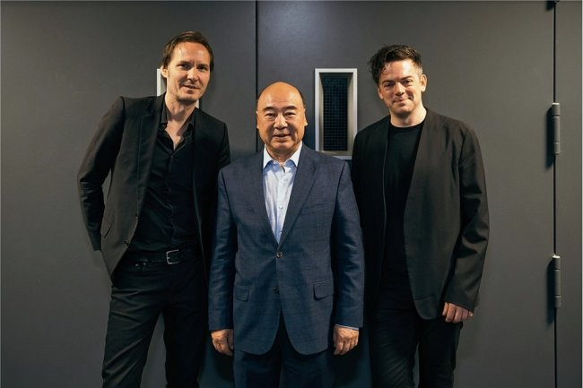 Sven Helbig (links im Bild)