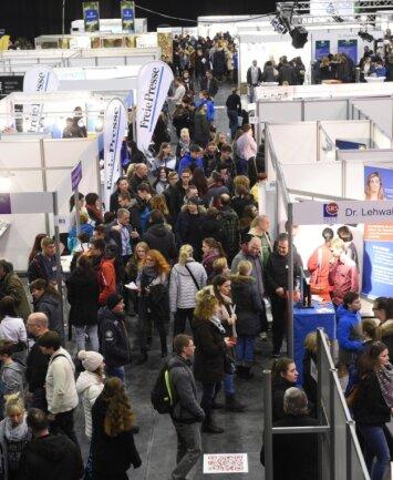 """Mehr als 7000 Gäste besuchten die Messe """"Mach was!"""" 2020 in Chemnitz."""