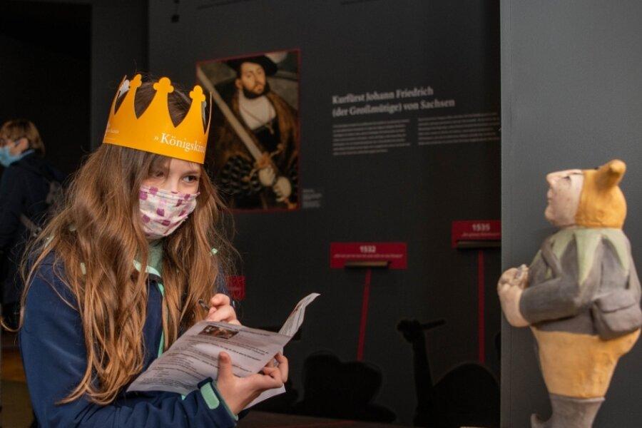 Rätselspaß auf Schloss Rochlitz: Wo versteckt sich Peterle?