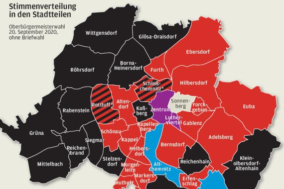 So haben die Stadtteile gewählt