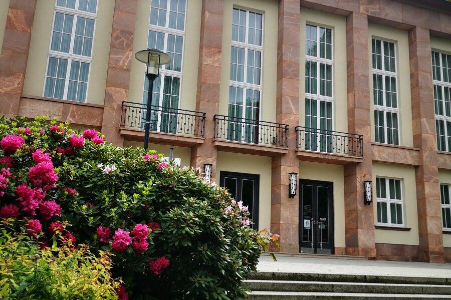 Am Dienstagabend bracht der Stadtrat von Aue seine Sitzung im Kulturhaus ab.