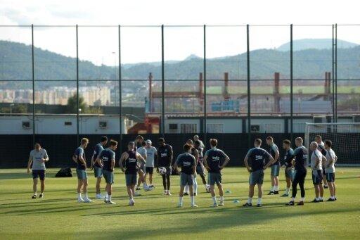 Supercup: Barcelona in der Vorbereitung für das Duell