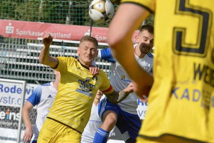 VfB Auerbach holt Heimsieg und sichert Klassenerhalt