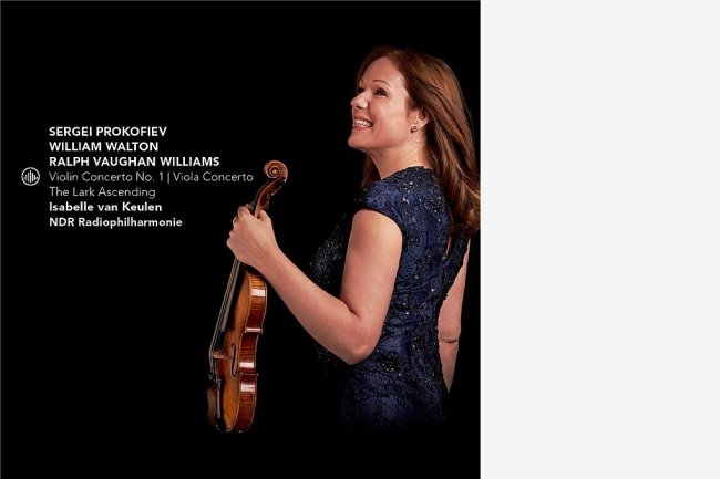 "Isabelle van Keulen und die NDR-Radiophilharmonie: ""Violin Concerto No. 1|Viola Concerto|The Lark Ascending"""