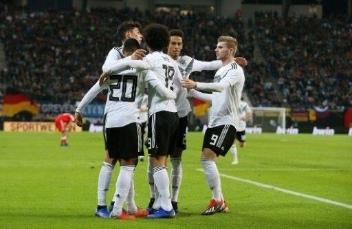 Das junge deutsche Team überzeugte gegen Russland