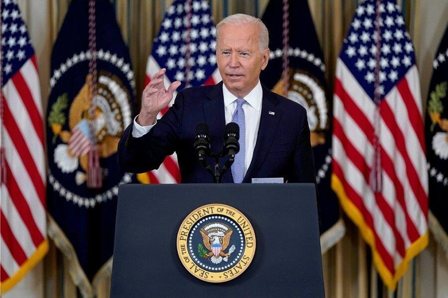 US-Präsident Joe Biden macht Druck auf Impfmuffel - nicht nur bei Bundesbehörden, sondern auch in der Wirtschaft