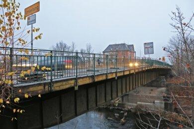 Bei jeder Brückenprüfung erhält das Cainsdorfer Bauwerk die schlechtestmögliche Note.