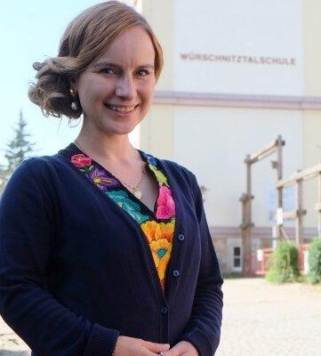 Jenny Geuthel, die neue Schulleiterin der Internationalen Schulen Niederwürschnitz.