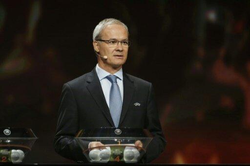 UEFA-Wettbewerbsdirektor Giorgio Marchetti