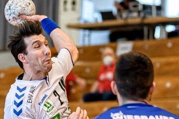 Nach zwei Jahren beim EHV wechselt Gabriel De Santis zu einem italienischen Erstligisten. In Bietigheim erzielte der Schwede drei seiner bisher 90 Tore für Aue.