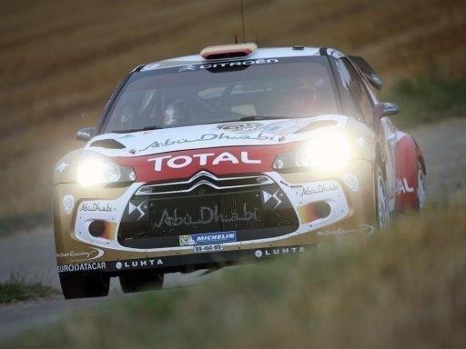 Dani Sordo siegt bei Rallye Deutschland