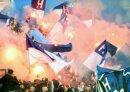 Die Hertha-Fans fielen in Dortmund unangenehm auf