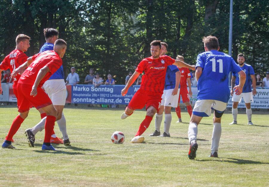 FSV Zwickau beim Testspiel in Torlaune