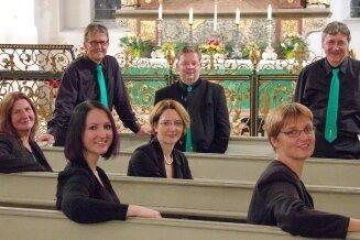 Der Kleine Chor der Schwarzenberger Kantorei.