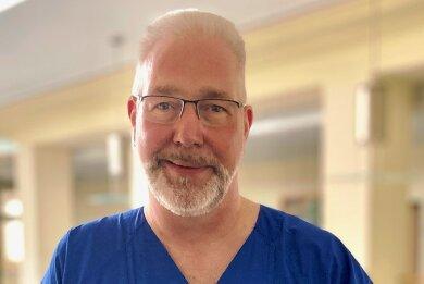 Dr. Thomas Ketteler vom Helios-Klinikum Aue plädiert für das Impfen. Der Kardiologe hofft am Samstag auf viele Interessenten bei einem freien Impftermin im Krankenhaus auf dem Zeller Berg.