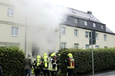 Zu einem Brand ist es am Dienstagnachmittag an der Ammonstraße gekommen.
