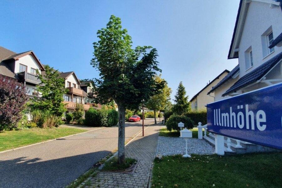 An der Illmhöhe in Zschopau entstanden bereits in den 1990er-Jahren zahlreiche Eigenheime. Jetzt kommen eventuell bald weitere dazu.