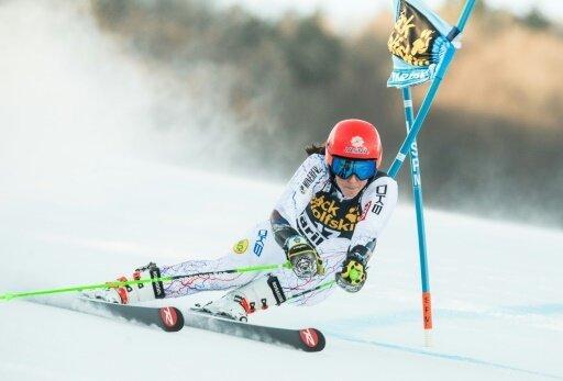 Petra Vlhova siegte vor Favoritin Mikaela Shiffrin