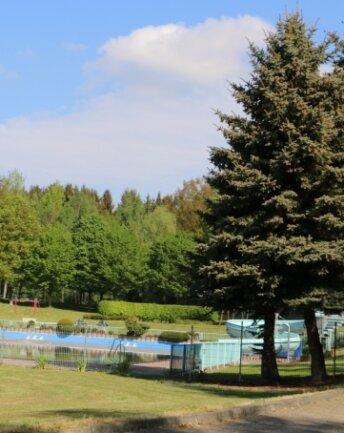 Das Waldbad Rodau punktet auch mit seiner idyllischen Lage.