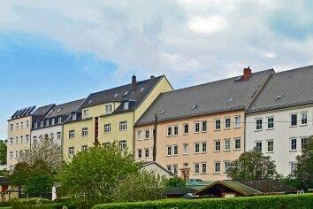 Einen weiten freien Blick nach Süden haben die Bewohner der Schellingstraße.
